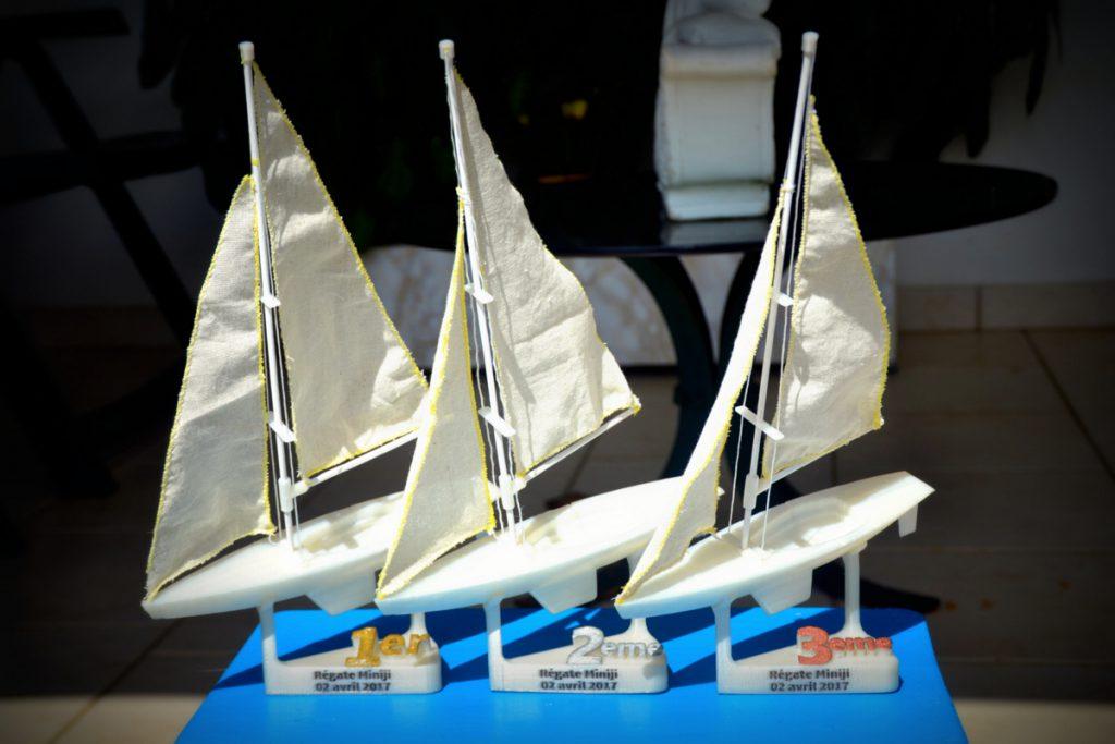 Karaïb 3D Karaïbe Karaïbes Caraïbes Caraïbe Impression conception fabrication numérique imprimante Trophées régate