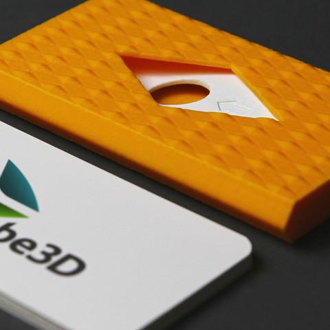Karab 3D Karabe Karabes Carabes Carabe Impression Conception Fabrication Numrique Imprimante Porte Cartes De Visite