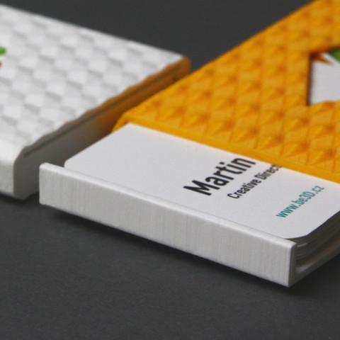 Karaib 3D Karaibe Karaibes Caraibes Caraibe Impression Conception Fabrication Numerique Imprimante Porte Cartes De Visite