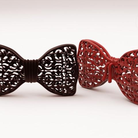 Karaïb 3D Karaïbe Karaïbes Caraïbes Caraïbe Impression conception fabrication numérique imprimante Nœud papillon fantaisie