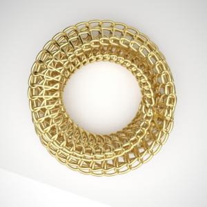 Karaïb 3D Karaïbe Karaïbes Caraïbes Caraïbe Impression conception fabrication numérique imprimante Bracelet PYT