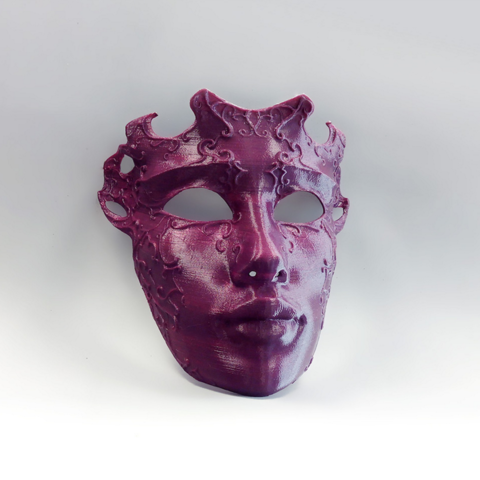 Karaïb 3D Karaïbe Karaïbes Caraïbes Caraïbe Impression conception fabrication numérique imprimante Masque vénitien