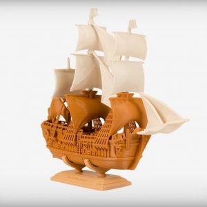 Karaïb 3D Karaïbe Karaïbes Caraïbes Caraïbe Impression conception fabrication numérique imprimante Bateau Endeavor