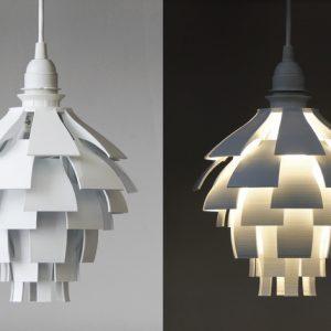 Karaïb 3D Karaïbe Karaïbes Caraïbes Caraïbe Impression conception fabrication numérique imprimante Lampe Artichaut