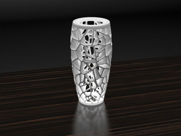 Karaïb 3D Karaïbe Karaïbes Caraïbes Caraïbe Impression conception fabrication numérique imprimante Lampe Voronoi ronde