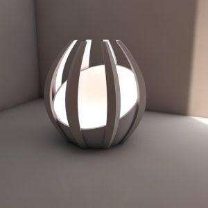 Karaïb 3D Karaïbe Karaïbes Caraïbes Caraïbe Impression conception fabrication numérique imprimante Lampe