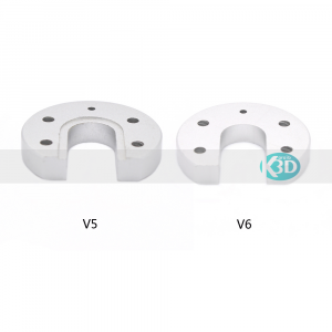 Karaïb 3D Karaïbe Karaïbes Caraïbes Caraïbe Impression conception fabrication numérique imprimante Bride de fixation alu ronde j-head v6 - 1