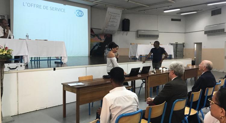 Karaïb 3D Karaïbe Karaïbes Caraïbes Caraïbe Impression conception fabrication numérique imprimante Forum des métiers du lycée Acajou 2