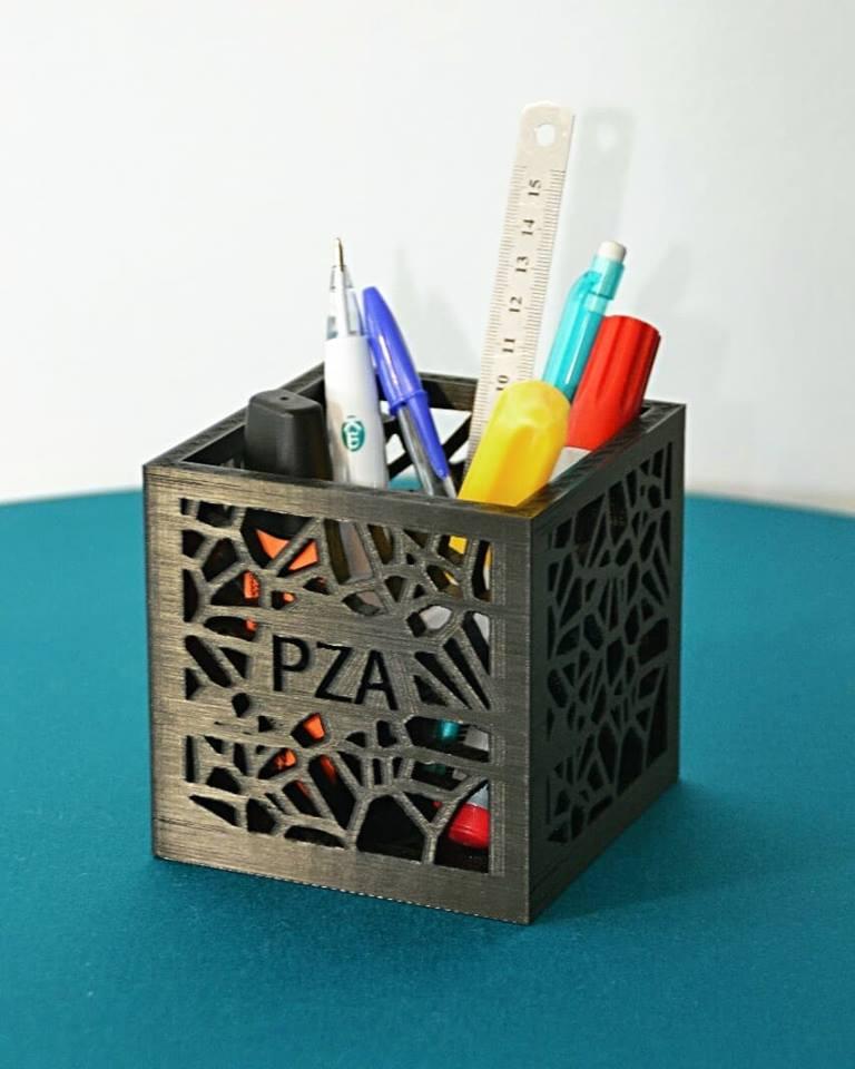 Karaïb 3D Karaïbe Karaïbes Caraïbes Caraïbe Impression conception fabrication numérique imprimante Pot à crayons personnalisé