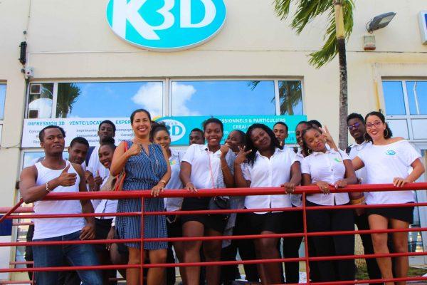 Karaïb 3D Karaïbe Karaïbes Caraïbes Caraïbe Impression conception fabrication numérique imprimante Semaine portes ouvertes - Visite des lycées
