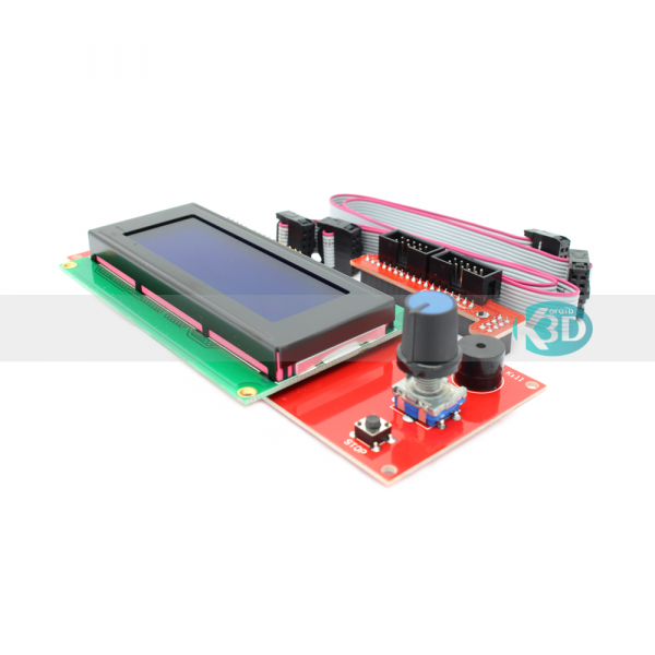 Karaïb 3D Karaïbe Karaïbes Caraïbes Caraïbe Impression conception fabrication numérique imprimante ecran LCD 2004 smart controller avec nappes et connecteur ramps 1.4 - 2