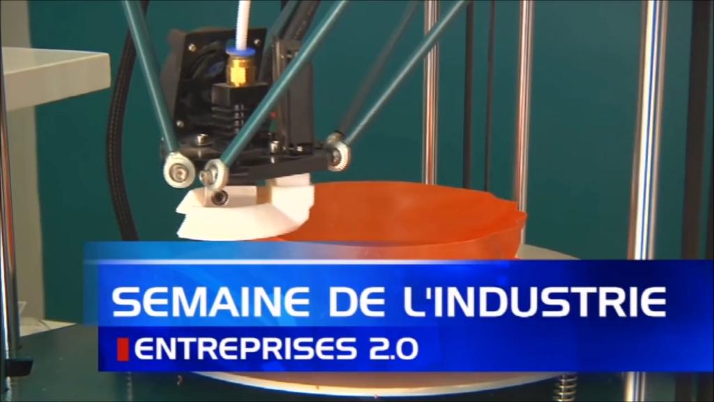Karaïb 3D Karaïbe Karaïbes Caraïbes Caraïbe Impression conception fabrication numérique imprimante Reportage ATV - Semaine de l'industrie