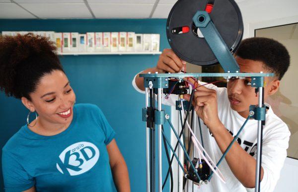 Karaïb 3D Karaïbe Karaïbes Caraïbes Caraïbe Impression conception fabrication numérique imprimante Ateliers de formation