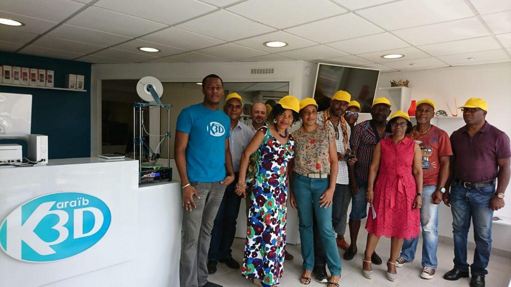 Karaïb 3D Karaïbe Karaïbes Caraïbes Caraïbe Impression conception fabrication numérique imprimante Journée de l'innovation de Caraib Moter