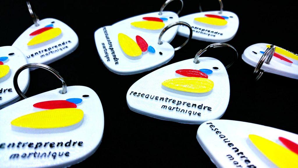 Karaïb 3D Karaïbe Karaïbes Caraïbes Caraïbe Impression conception fabrication numérique imprimante portes clés RE