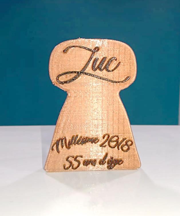 Karaïb 3D Karaïbe Karaïbes Caraïbes Caraïbe Impression conception fabrication numérique imprimante Cadeau bouchon de champagne personnalisé