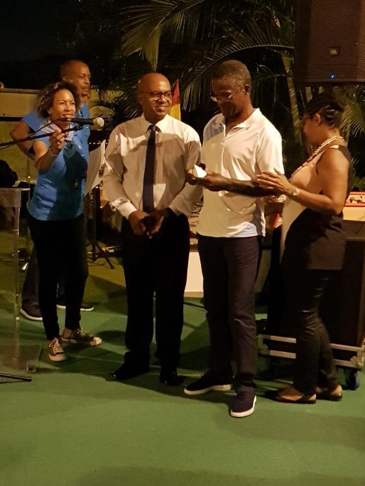 Karaïb 3D Karaïbe Karaïbes Caraïbes Caraïbe Impression conception fabrication numérique imprimante Trophée du meilleur ambassadeur CNFPT