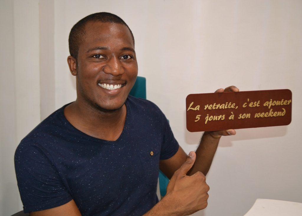 Karaïb 3D Karaïbe Karaïbes Caraïbes Caraïbe Impression conception fabrication numérique imprimante Plaque de départ à la retraite