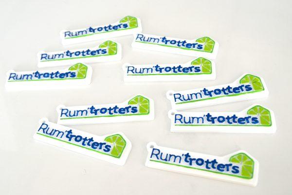 Karaïb 3D Karaïbe Karaïbes Caraïbes Caraïbe Impression conception fabrication numérique imprimante Porte-clés Rum'Trotters