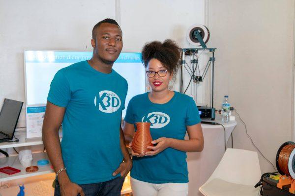 Karaïb 3D Karaïbe Karaïbes Caraïbes Caraïbe Impression conception fabrication numérique imprimante Madin'Expo 2018