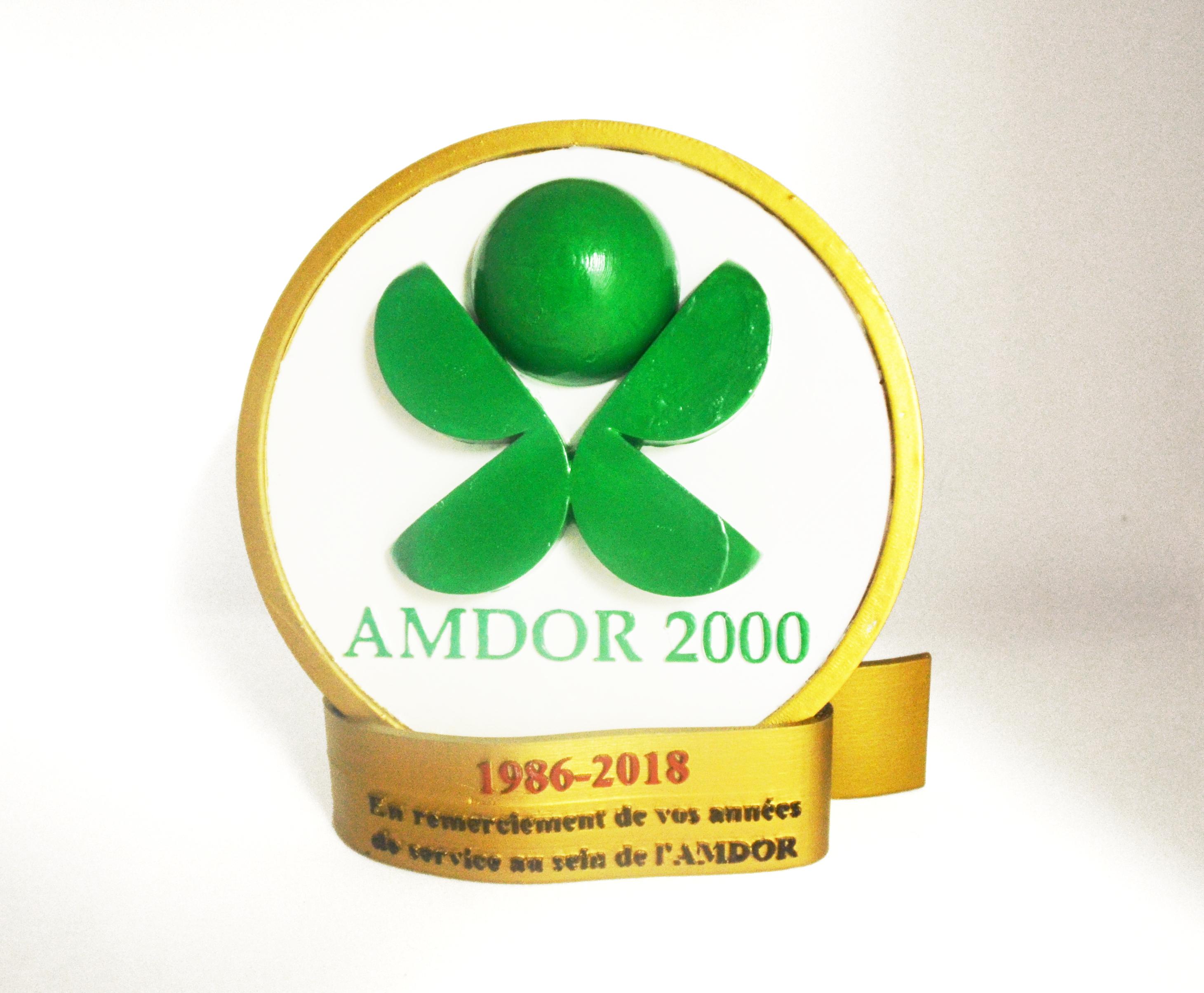 Karaïb 3D Karaïbe Karaïbes Caraïbes Caraïbe Impression conception fabrication numérique imprimante Trophée AMDOR 2000